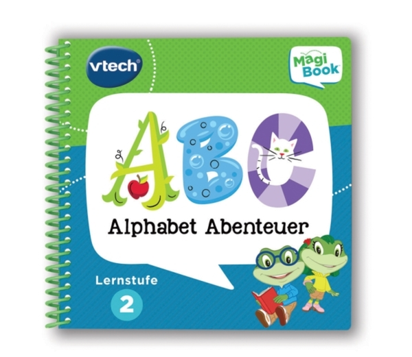 Lernbuch Alpahbet Abenteuer