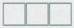 Noris Spiele Malen nach Zahlen - Alurahmen Tripty. Silber 120x40 cm; 605270766