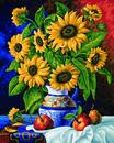 Bild 1 von Noris Spiele Malen nach Zahlen - Stillleben mit Sonnenblumen; 609130308