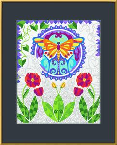 Noris Spiele Malen nach Zahlen - Relax & Color - Schmetterling; 609480748