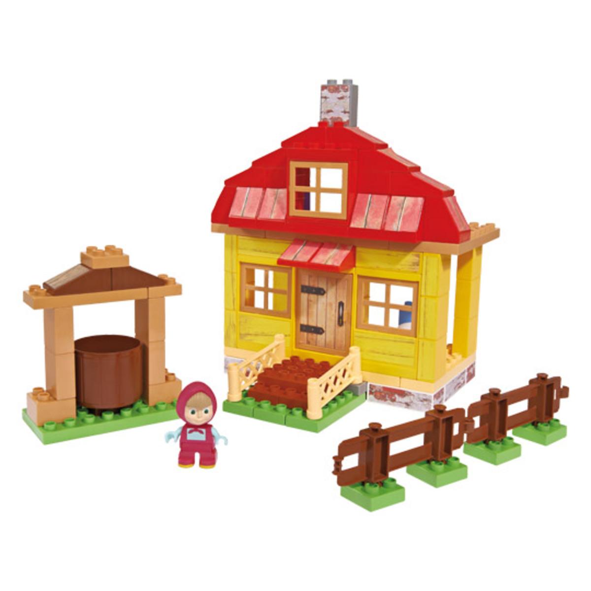 Bild 1 von BIG 800057096, Bausatz, Mehrfarben, 1,5 Jahr(e), 95 Stück(e), Cartoon, Junge/Mädchen
