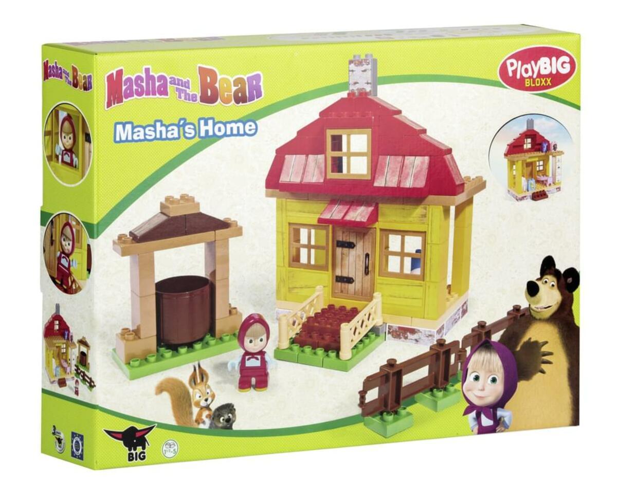 Bild 4 von BIG 800057096, Bausatz, Mehrfarben, 1,5 Jahr(e), 95 Stück(e), Cartoon, Junge/Mädchen