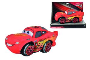 Simba Disney Cars 3, McQueen mit Sound Plüschfigur; 6315874915