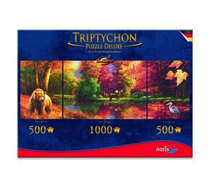 Noris Spiele Tript. Puzzle 2000tlg. Indian Summer; 606038016
