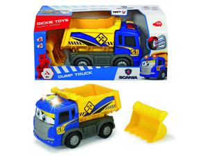 Dickie Toys - Spielfahrzeuge, Happy Scania Dump Truck; 203816002