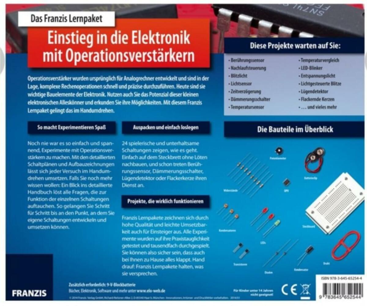 Bild 4 von Lernpaket Einstieg in die Elektronik mit Operationsverstärkern