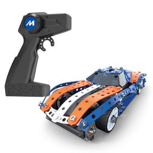 Spin Master Meccano RC Muscle Car, Fahrzeug-Baukasten, 10 Jahr(e), Schwarz, Blau, 350,5 mm, 58,4 mm, 248,9 mm