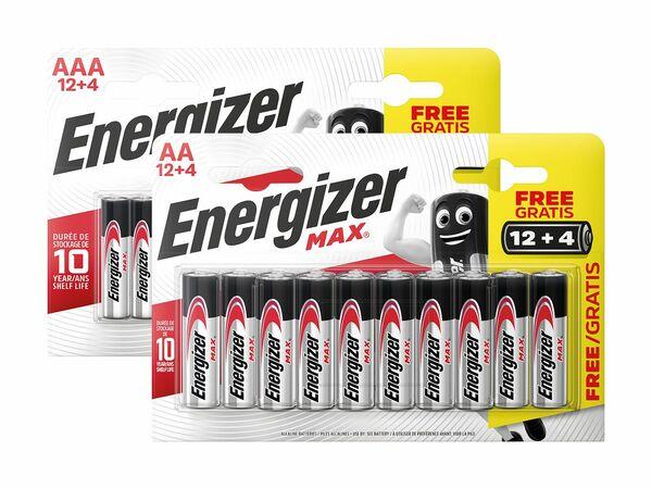 Energizer max 12+4 Batterien