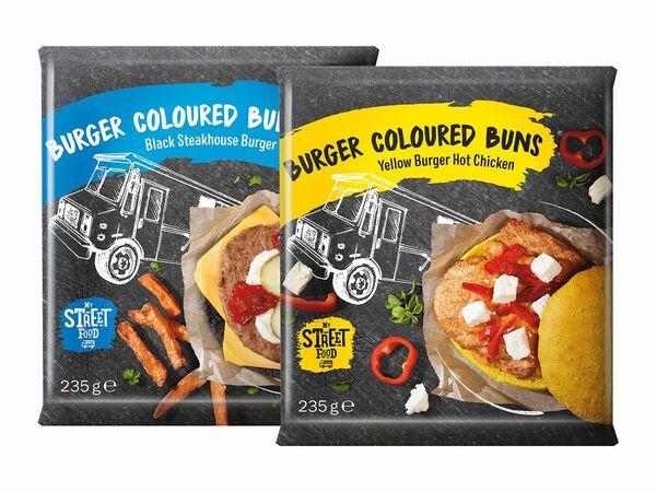 Burger Coloured Buns