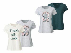 ESMARA® Lingerie 2 Damen Schlafshirts