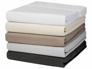 MERADISO® Jersey-Spannbettlaken, 140-160 x 200 cm