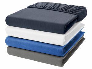 MERADISO® Jersey-Spannbettlaken, 180-200 x 200 cm