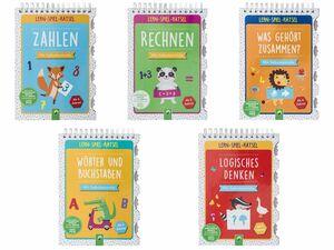 Kinder Lern-Spiel-Rätselbuch