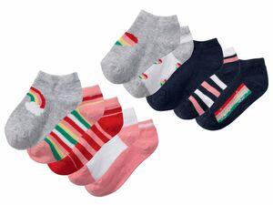 LUPILU® 5 Paar Kleinkinder Mädchen Sneakersocken