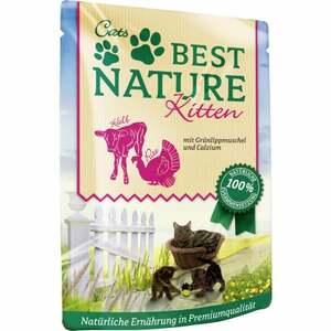 Best Nature Katzenfutter Kitten Pute & Kalb 1.05 EUR/100 g (16 x 85.00g)