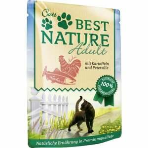 Best Nature Katzenfutter Adult Lachs & Huhn 1.05 EUR/100 g (16 x 85.00g)