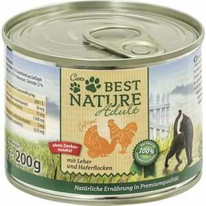 Best Nature Katzenfutter Adult Geflügel & Leber 0.50 EUR/100 g