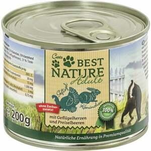 Best Nature Katzenfutter Adult Geflügel & Kaninchen 0.50 EUR/100 g