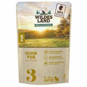 Wildes Land Nr. 3 Huhn PUR mit Distelöl