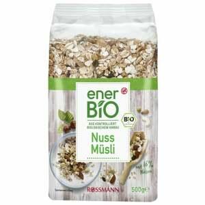 enerBiO Nuss Müsli 7.98 EUR/1 kg