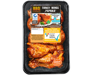 "BBQ XXL-Turkey Wings ""Paprika"""