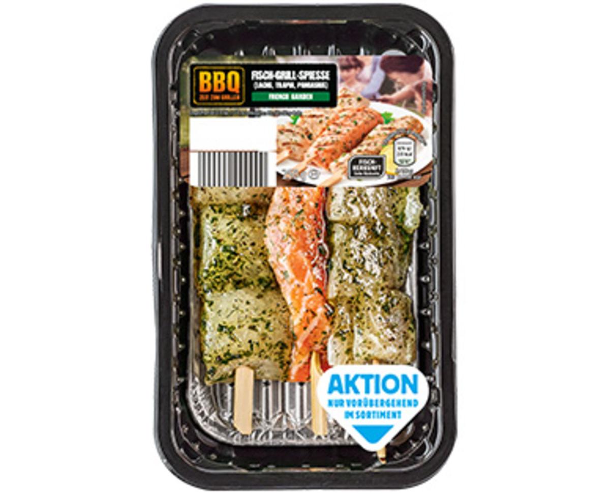 Bild 1 von BBQ Fisch-Grill-Spieße