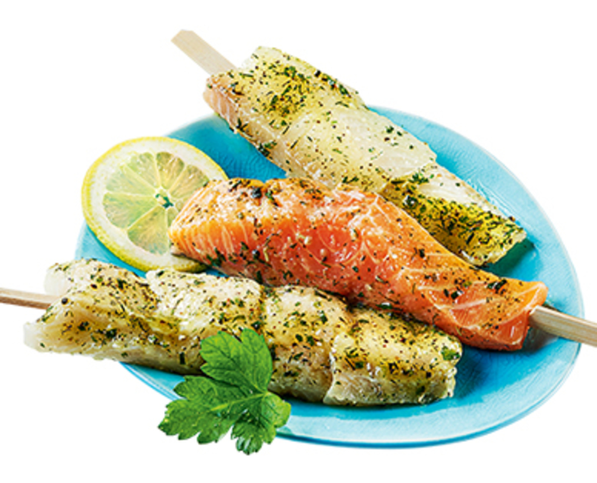 Bild 2 von BBQ Fisch-Grill-Spieße