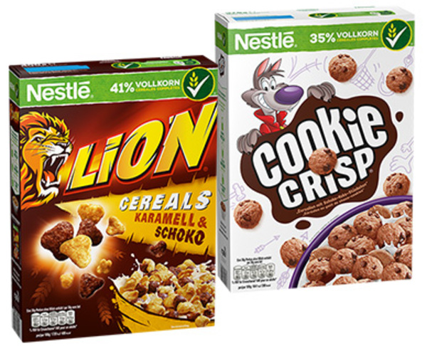 Nestle Cerealien