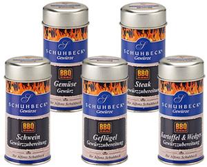 SCHUHBECK'S BBQ Gewürzzubereitung