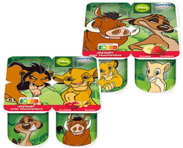 DANONE Disney Joghurt