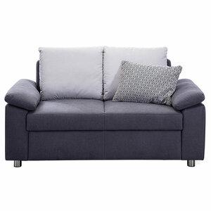2-Sitzer-Sofa - grau - Federkern