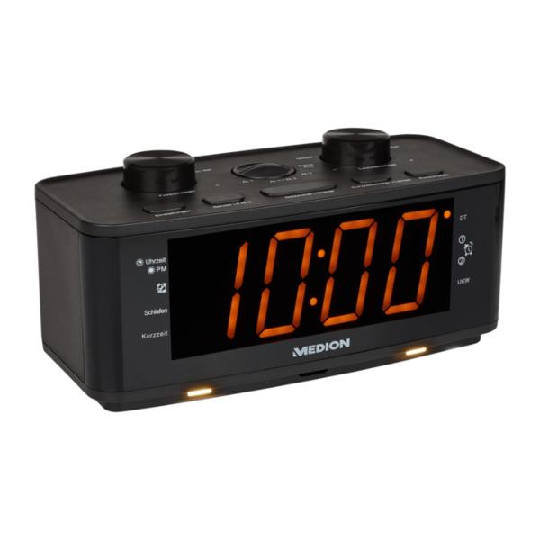 MEDION LIFE P66172 Uhrenradio mit Nachtlicht