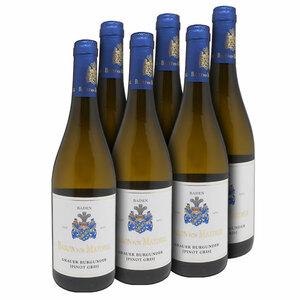 Baron von Maydell Grauer Burgunder Pinot Gris QbA Baden 2017 - 6er Karton