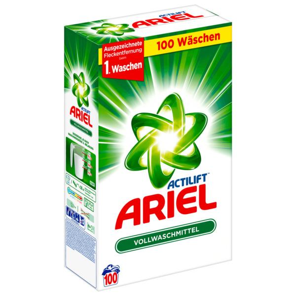 Ariel Vollwaschmittel Pulver Regulär 6,5kg, 100WL