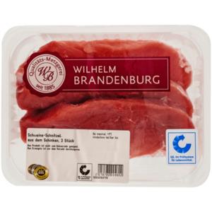 Wilhelm Brandenburg Schweine-Schnitzel aus dem Schinken ca. 540g, 3 Stück