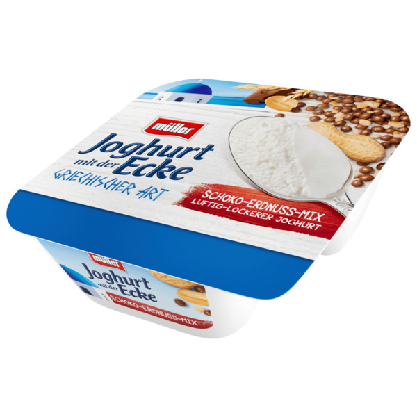 Müller Joghurt mit der Ecke Schoko-Erdnuss-Mix 113g