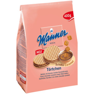 Manner Törtchen Schoko-Caramel 400g