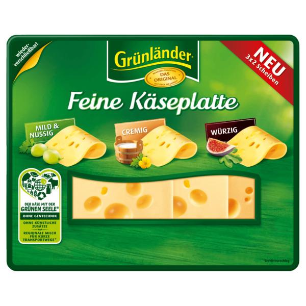 Grünländer Feine Käseplatte 120g