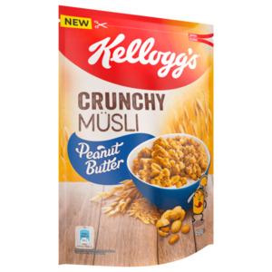 Kellogg's Crunchy Müsli Peanut Butter 450g