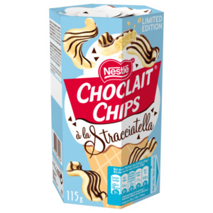 Nestlé Choclait Chips Stracciatella 115g