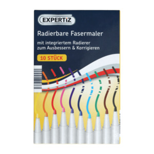 EXPERTIZ     Radierbare Fasermaler