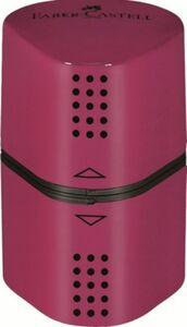 Faber Castell -  Dreifachspitzdose - rot