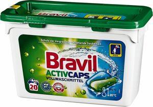 Bravil Vollwaschmittel Duo-Caps 20 Waschladungen