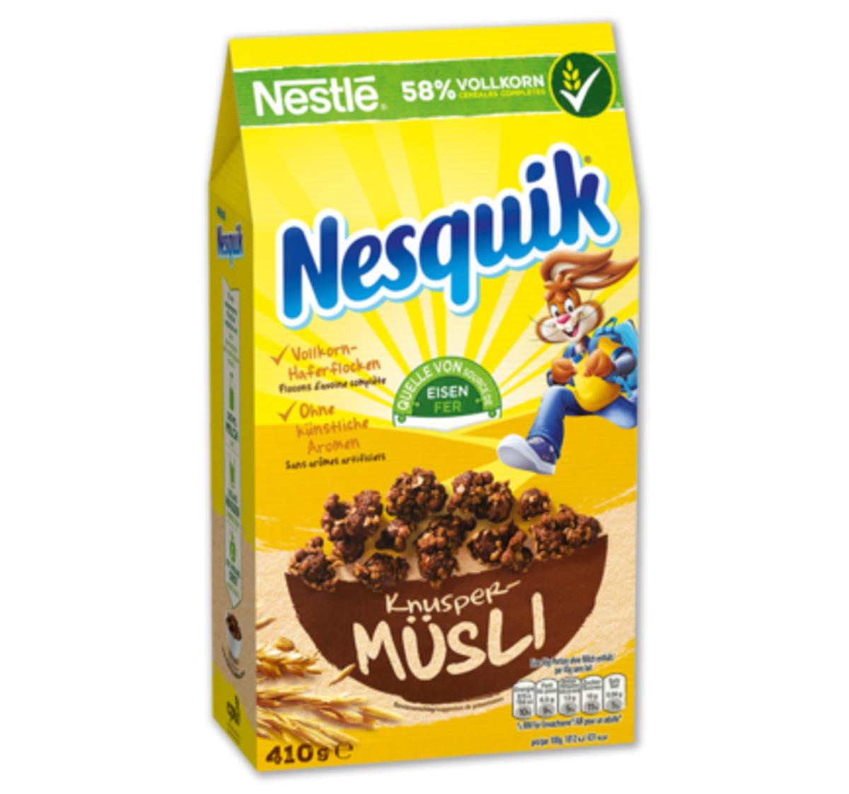 Bild 2 von NESTLÉ Cerealien