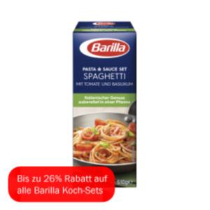 Barilla Koch-Set für Spaghetti mit Tomate und Basilikum