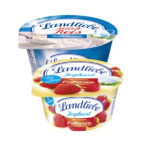 Landliebe Fruchtjoghurt oder Milchreis