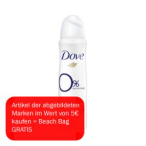 Dove Pflegeduschgel, Deo Spray oder Roll-On