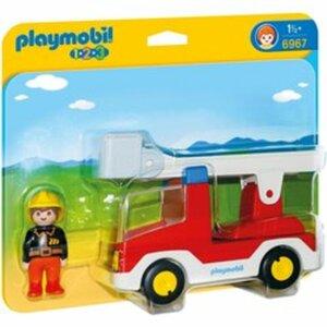PLAYMOBIL - 6967 Feuerwehrleiterfahrzeug