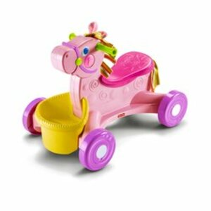 Fisher-Price - Rutscher Pink Pony mit Puppe