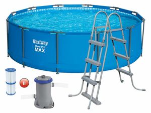 Bestway Steel ProMAX Stahlrahmenpool-Set